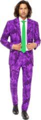 Paarse Batman Mr. Joker™ Opposuits™ kostuum voor mannen - Verkleedkleding