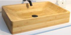 Waskom Minnor Rufa 60x40x11 cm Bamboe Caramel
