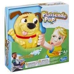Hasbro kinderspel Plassende Pup 18 cm bruin