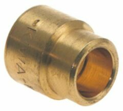 Bonfix messing verloopsok capillair 15x12mm gastec / kiwa 82060
