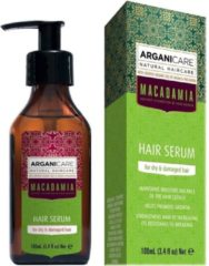 ARGANICARE MACADAMIA HAIR SERUM FOR DRY & DAMAGED HAIR - ARGAN & MACADAMIA 100 ML