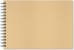 Artgecko Krafty Spiraal Schetsboek A3 Landschap 150gr 40 vel Wit