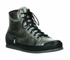 Grijze Hoge Sneakers Wolky 02777 Watson - 30280 metal leer