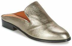 Zilveren Slippers Robert Clergerie COULIPAID