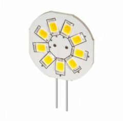 Goobay G4 LED lamp / inbouwspot rond - 1,5W warm wit