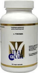 Vital Cell Life L-Tyrosine 400 Mg Capsules
