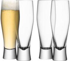Transparante L.S.A LS 467127 Bar Drinken Bierglazen 400 ml
