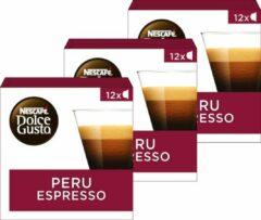 NESCAFÉ Dolce Gusto Nescafé Dolce Gusto capsules Espresso Peru - 36 koffiecups - geschikt voor 36 koppen koffie