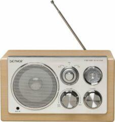 Denver Tr-61lightwood - Radio Met Elegant Design - Houtkleur