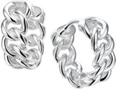 Zilveren The Jewelry Collection Klapoorringen Gourmet - Zilver