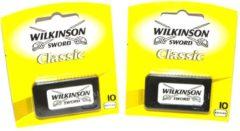 Wilkinson Classic scheermesjes voordeelset 2 x 10 stuks !!