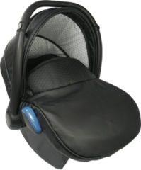 P'tit Chou Modena Autostoel Eco leder - Zwart - Gratis accessoires