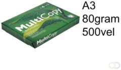 Bruna Kopieerpapier Multicopy A3 80gr wit 500vel