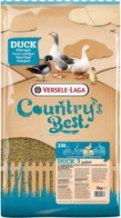 Versele-Laga Country`s Best Duck 3 Pellet 2mm Watervogel - Pluimveevoer - 5 kg Van 13 Weken