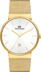Gouden Danish Design watches edelstalen herenhorloge Tåge Gold Large IQ05Q971