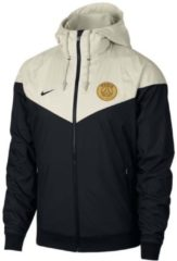 Paris St. Germain Kapuzenjacke aus Ripstop-Material Nike Black/Light Bone/Black