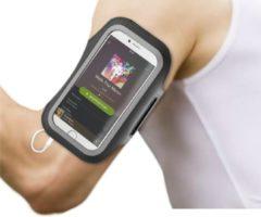BeHello Universele Sportarmband Maat XL (oa iPhone Xs iPhone X iPhone 8 iPhone 7 iPhone 6) - Zwart