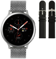 Samsung Galaxy Watch Active2 - Staal - Milanese Band - 44mm - Special Edition - Zilver