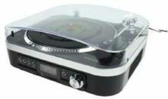 König - HAV-TT25USB - USB Platenspeler met Speakers - Zwart
