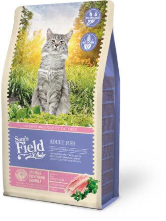 Afbeelding van Sam's Field Cat Adult Vis - Kattenvoer - 2.5 kg - Kattenvoer