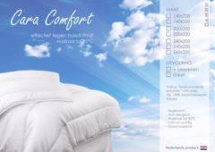 Witte TIMZO Cara Comfort Dekbed 4 Seizoenen - Ledikant - 100x135 cm
