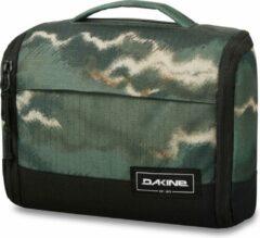 Dakine - Daybreak Travel Kit Medium - Toilettas maat 25 x 19 x 10 cm, zwart/olijfgroen/grijs