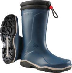 Dunlop K454061 Blizzard Gevoerde Winterlaars PVC Blauw - Maat 37
