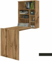 Maison Home Bureau - Inklapbaar bureau - Eikenhout/Bruin - 71x54x75