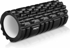 Athletix® - Grid Foam Roller - Trigger point - Yoga - 33cm - Zwart