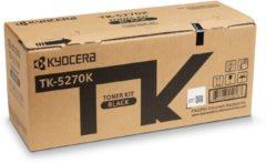 Kyocera Tonercassette TK-5270K 1T02TV0NL0 Origineel Zwart 8000 bladzijden