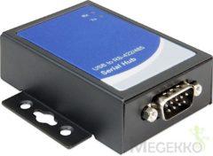 Zwarte DeLOCK 87585 RS-422/485 USB 2.0-B Zwart kabeladapter/verloopstukje