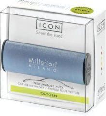Blauwe Millefiori Milano Icon car 54 Oxygen - Metallo
