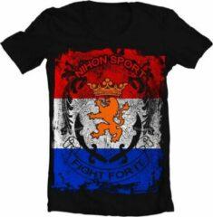 Zwarte Nihon T-Shirt Fighting For It Nl Maat Xxl