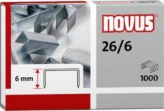 Nietjes Novus 26/6 doos a 1000 stuks