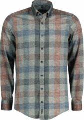 Casa Moda Overhemd - Modern Fit - Grijs - 4XL Grote Maten