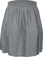 Urban Classics Ladies Jersey Pleated Mini Skirt Minigonna grigio