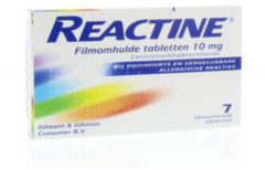 Reactine Anti Histaminicum 10 Mg (7tb)