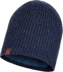 Buff Knitted & Polar Muts Lyne Night Blue Donkerblauw/Donkergrijs