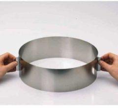 Verstelbare kookring / taartring, 10cm - Gefu