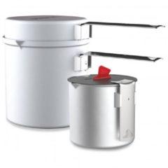 Roestvrijstalen Primus Essential pannenset - 3-delig - Aluminium