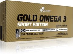 Olimp Supplements Gold Omega-3 Sport Edition - Essentiele Vetzuren EPA en DHA - 120 capsules