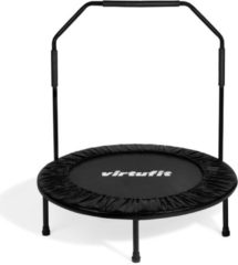 Fitness trampoline - VirtuFit Sport Trampoline met Handvat - Zwart - 100 cm