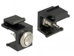 DeLOCK Keystone Drucktaster, Keystone-Modul