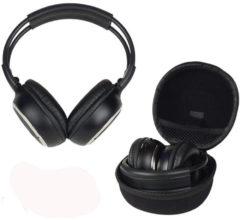 Zwarte Caliber Hoofdtelefoon MAC104UHF UHF draadloze stereo-koptelefoon met 863MHz ISM band