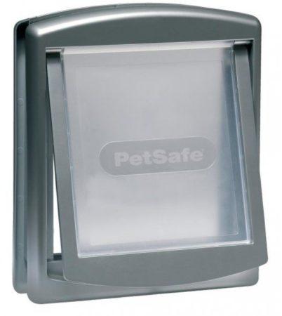 Afbeelding van Zilveren PetSafe Huisdierenluik in 2 richtingen 737 small 17,8 x 15,2 cm zilver 5019