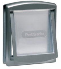Zilveren PetSafe Huisdierenluik in 2 richtingen 737 small 17,8 x 15,2 cm zilver 5019