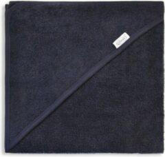 Marineblauwe Gepersonaliseerde baby badcape | omslagdoek – NAVY | 80x80 cm | 100% katoen | funnies | badcape met naam | kraamcadeau | geboorte jongen | geboorte meisje