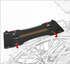 Zwarte Dandell Twist & Bike basis plaat ref. 63