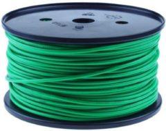 QSP Products PVC stroomkabel Groen 1 x 1,5 mm2 (100m).