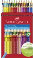 Faber-Castell Faber Castell FC-112442 Kleurpotlood FC Grip 36 Stuks 2 Rijen Van 18 Stuks Kartonetui